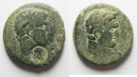 Ancient Coins - Decapolis. Philadelphia . Domitian , Titus.