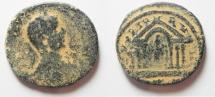 Ancient Coins - PHOENICIA. TYRE. ELAGABALUS AE 28MM , 13.42GM