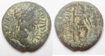 Ancient Coins - Decapolis. Gadara under Marcus aurelius (AD 161-180). AE 21mm, 7.46g.