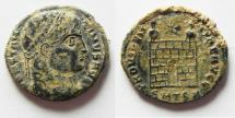 Ancient Coins - NICE AS FOUND CONSTANTINE I AE 3