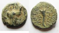 Ancient Coins - Decapolis , Gadara 40-39 BC. AE 19MM .