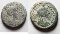 Ancient Coins - NEEDS CLEANING: Decapolis. Philadelphia under Marcus Aurelius (AD 161-180). AE 25mm, 13.57g. CHOICE!