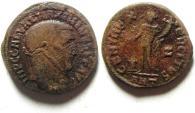 Ancient Coins - MAXIMINUS II AE FOLLIS , ANTIOCH