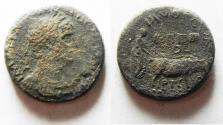 Ancient Coins - AKE-PTOLEMAIS. HADRIAN AE 22