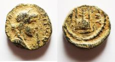 Ancient Coins - ROMAN PROVINCIAL. Syria, Seleucia and Pieria. Antioch on the Orontes. AE  11mm, 1.87g. Struck AD 145/6.