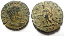 Ancient Coins - LICINIUS I AE FOLLIS , BARBIC? TRIER MINT