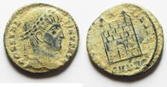 Ancient Coins - AS FOUND. ORIGINAL DESERT PATINA: CONSTANTINE I AE 3
