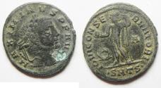 Ancient Coins - MAXIMINUS AE FOLLIS.