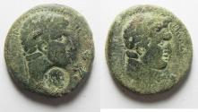 Ancient Coins - Decapolis. Philadelphia . Domitian , Titus.