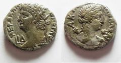 Ancient Coins - EGYPT, Alexandria. Nero. AD 54-68. BI Tetradrachm