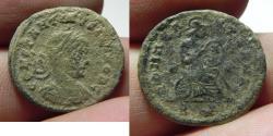 Ancient Coins - CONSTANTINE II AE 3 . AS FOUND. RARE!