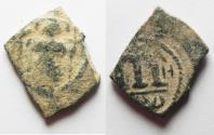 Ancient Coins - ARAB-BYZANTINE AE FALS. BA'AD UNDER M.