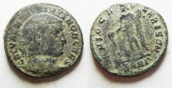 Ancient Coins - MAXIMINUS II AE FOLLIS. AS FOUND