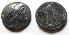 Ancient Coins - SELEUKID KINGDOM. DEMETRIUS II SILVER TETRADRACHM