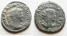 Ancient Coins - AURELIAN & VABALATHUS AE ANTONINIANUS
