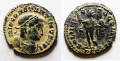 Ancient Coins - CONSTANTINE I AE FOLLIS. ORIGINAL DESERT PATINA