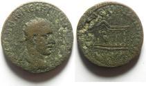 Ancient Coins - Trajan Decius ae 25 of Mesopotamia, Rhesaena