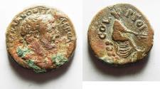 Ancient Coins - PHOENICIA, Ace-Ptolemais. Trajan. AD 98-117. Æ 23