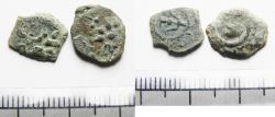 Ancient Coins - AS FOUND: A Pair Of Ancient Biblical Widow's Mite Coins