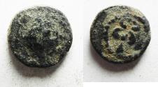 Ancient Coins - Decapolis. Gadara. Tiberius. AD 14-37. Æ 12