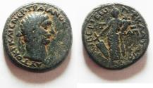 Ancient Coins - VERY ATTRACTIVE: JUDAEA. GALILEE. TIBERIAS. TRAJAN AE 27