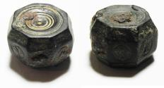 Ancient Coins - ANCIENT ISLAMIC BRONZE WEIGHT. 6TH-8TH CENT. A.D. 10 DINARS