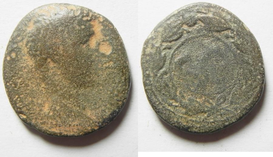 Ancient Coins - AUGUSTUS, Syria, Seleucia and Pieria, Antioch Æ 26