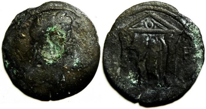 Ancient Coins - EGYPT , ALEXANDRIA, TRAJAN AEDRACHM