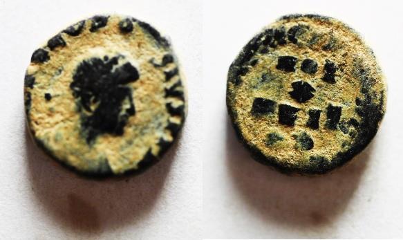 Ancient Coins - THEODOSIUS AE 4
