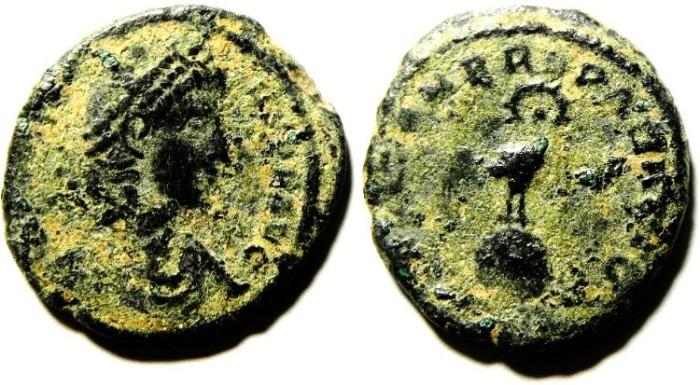 Ancient Coins - CONSTANTIUS II AE 3 , SCARCE