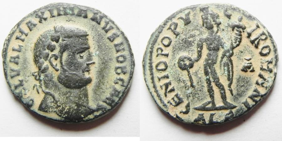 Ancient Coins - Maximianus. A.D. 286-305. Æ follis. Alexandria