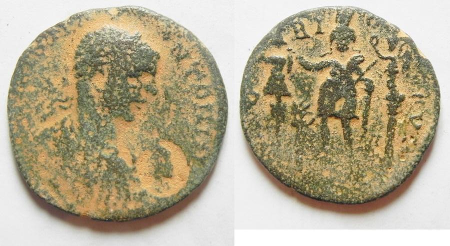 Ancient Coins - Phoenicia, Tyre. Elagabalus. A.D. 218-222. Æ.