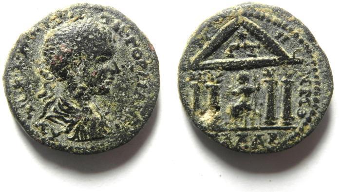 Ancient Coins - Roman Provincial. Syria, Decapolis. Gadara under Gordian III, AD 238-244. AE 22 , high quality coin