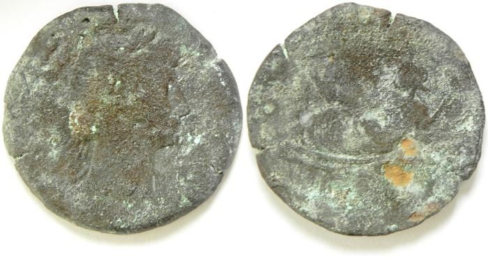 Ancient Coins - EGYPT , ALEXANDRIA , TRAJAN AE DRACHM