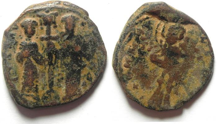 Ancient Coins - CONSTANTINE X (1059-1067) AE FOLLIS