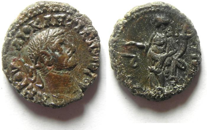 Ancient Coins - EGYPT , ALEXANDRIA , DIOCLETIAN POTIN TETRADRACHM , NICE