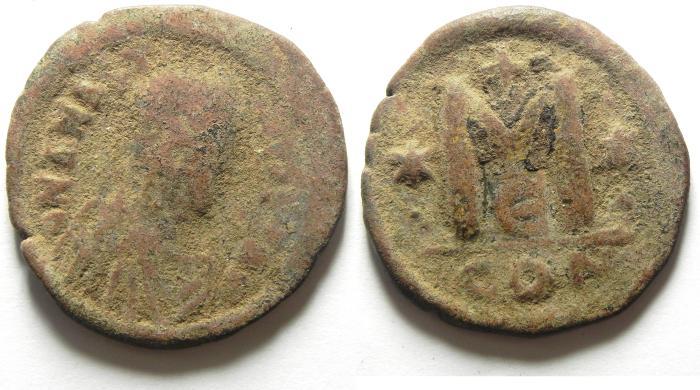 Ancient Coins - ANASTASIUS AE FOLLIS