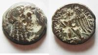Ancient Coins - PTOLEMAIC KINGDOM. PTOLEMY VI AE 25 WITH ISIS