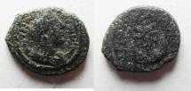 Ancient Coins - ARABIA. PETRA. ANTONINUS PIUS , CRESCENT & STAR AE 16