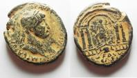 Ancient Coins - JUDAEA, Caesarea Maritima. TRAJAN . LARGE AE 34