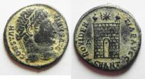 Ancient Coins - CONSTANTINE I AE 3 . NICE AS FOUND