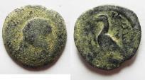 Ancient Coins - NABATAEAN KINGDOM. VERY RARE MALICHUS I AE 19