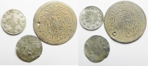 World Coins - LOT OF 3 OTTOMAN COINS. 2 SILVER