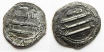 Ancient Coins - ISLAMIC. ABBASID SILVER DERHIM. MADINAT AL SALAM