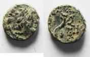 Ancient Coins - SELEUKID AE 12 AS FOUND. AKE? MINT