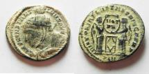 Ancient Coins - AS FOUND SCARCE CONSTANTINE I AE 3