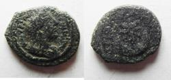 Ancient Coins - ARABIA. PETRA. ANTONINUS PIUS , CRESCENT & STAR AE 16