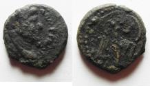 Ancient Coins - AS FOUND. JUDAEA CAPTA UNDER DOMITIAN AE 17