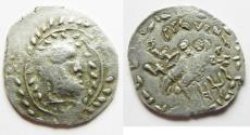 Ancient Coins - South Arabia. Saba'. AR unit (26mm, 5.39g). Struck 1st century BC-1st century AD. Imitating Athens 'New Style' coinage.