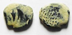 Ancient Coins - AS FOUND: JUDAEA. HASMONEAN AE PRUTAH